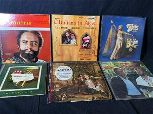 Group Lot Assorted Vinyl Records