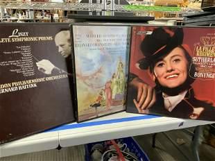 Collectible Vinyl Records 33s, Opera, Symphony