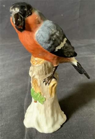 Vintage Dresden Porcelain Bird Figurine