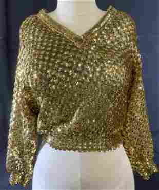 Vintage HARRY ACTON Sequined Sweater