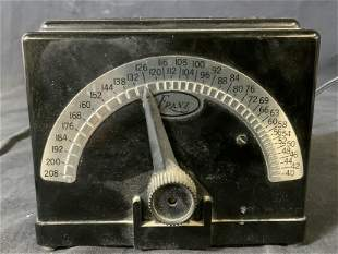 Vintage FRANZ Bakelite Electric Metronome