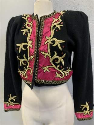 3 Talbots, Lambswool Matador Style Fashion Jackets