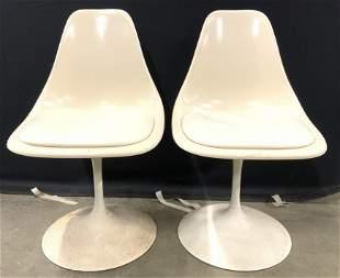Pr CONTEMPORARY SHELLS INC MCM Tulip Chairs