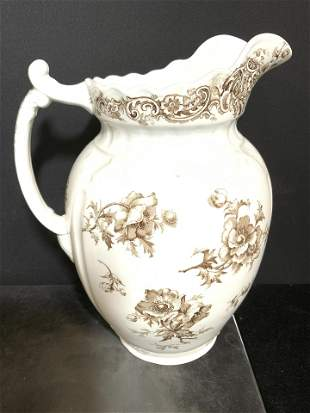 WEDGWOOD Intricately Detailed Porcelain Pitcher