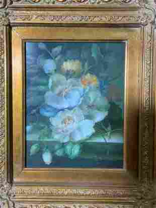 JAY NELSON Signed Oil on Canvas Floral Still Life