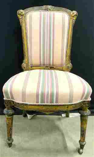 JOHN PAUL SCHRIEVER Victorian Upholstered Chair