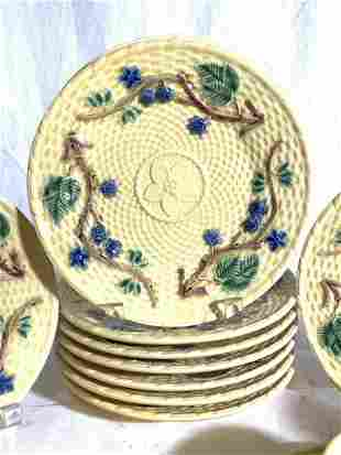 TIFFANY & CO Pottery Plate Set 28, Portugal