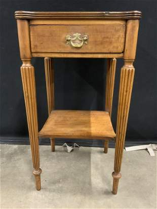 JOHN WANAMAKER Vintage Wooden Side Table