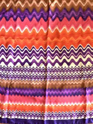 MISSONI Colorful Silk Scarf, Italy