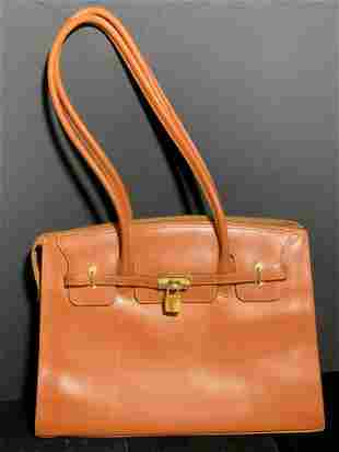 FOCUS PARIS French Brown Leather Ladies Purse