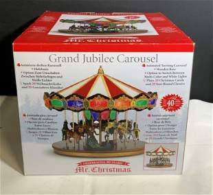 Collectible GRAND JUBILEE CAROUSEL Model W/ Box