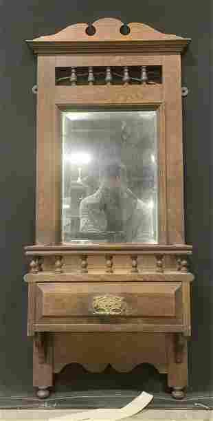 Antique Eastlake Style Wall Mirror