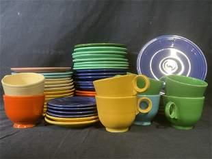Group Lot Vintage Ceramic Fiestaware