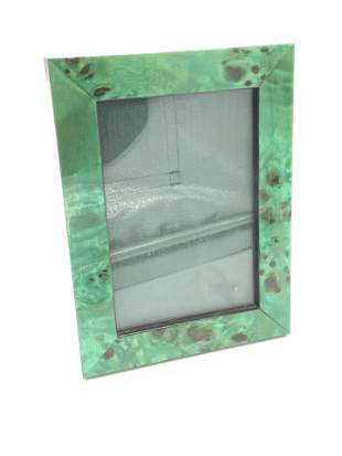 BRYN PARRY STUDIOS English Malachite Picture Frame