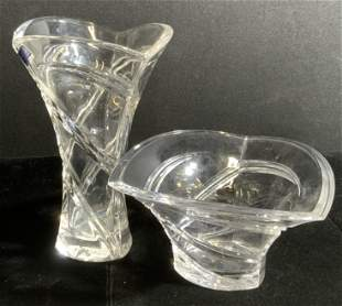 Lot 2 MARQUIS WATERFORD Crystal Vessels, Germany