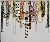 Huge Collection of Costume Necklaces and Brooches