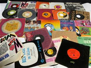 Lot 22 Vintage Vinyl 45 Records, BEACH BOYS & More