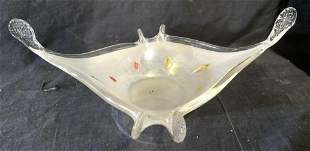 STUDIO NORD Art Glass Bowl