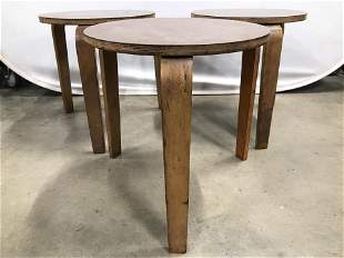 Set 3 Mid Century Modern Stacking Tables