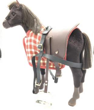 AMERICAN GIRL Country Horse Tabletop Figural