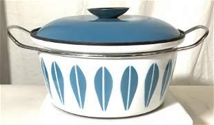 Mid Century CATHRINEHOLM ENAMEL Cooking Pot