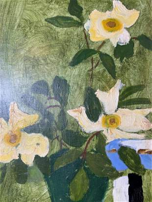BRYAN WILSON Signed Still Life Oil Painting