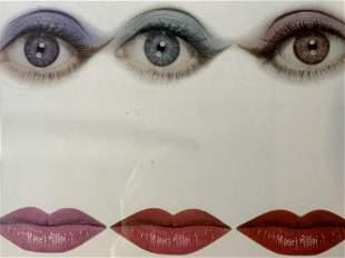 ERWIN BLUMENFELD Surrealist Offset Lithograph Artwork