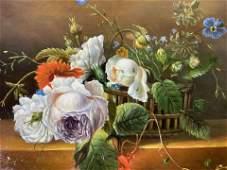R FORD Signed Still Life Oil Painting Artwork