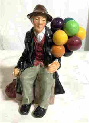 ROYAL DOULTON THE BALLOON MAN Figurine