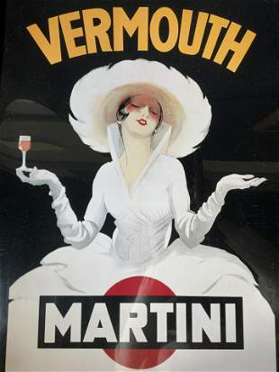 MARCELLO DUDOVICH Vermouth Offset Lithograph