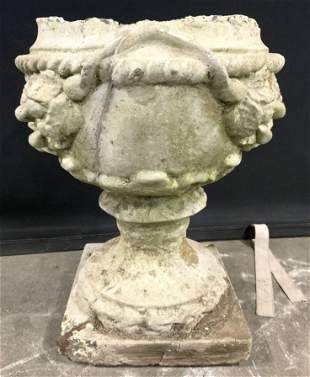 Outdoor Cement Stone Garden Statuary Urn