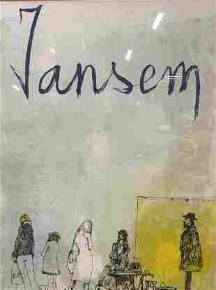 JEAN JANSEM Lithograph Artwork
