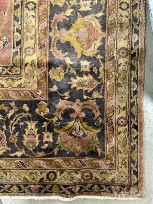Antique Room Size Handmade Persian Wool Rug