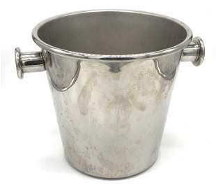 Signed ALESSI Italian Stainless Steel Ice Bucket