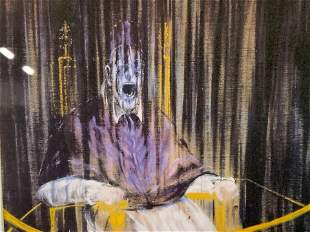 Attributed to FRANCIS BACON Lithograph Artwork