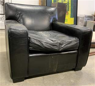 MITCHELL GOLD & BOB WILLIAMS Leather Armchair