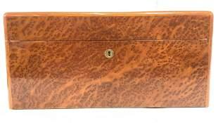 Inlaid Wooden Marquetry Keepsake Box