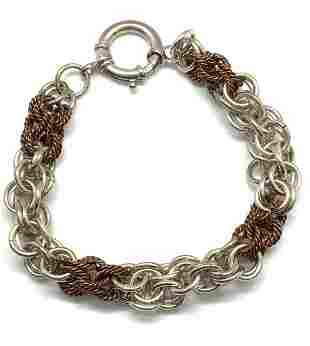 Sterling Silver Chain Link Bracelet, Jewelry