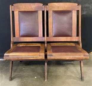 Vintage Folding Theater Seats