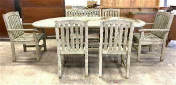 Se 9 Outdoor Teak Furniture Set Table & Chairs