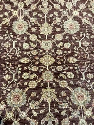Handmade Oversized Oriental Wool Rug