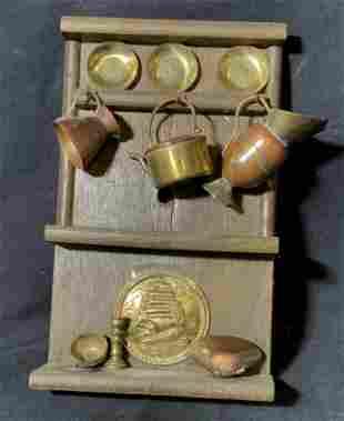 Brass & Copper Miniature Set