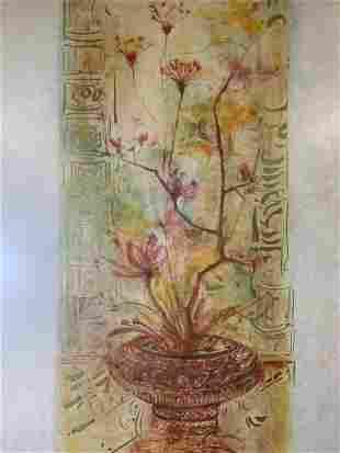 EDNA HIBEL Signed Lithograph, Artwork