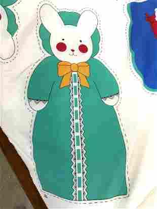 KATHY ORR DESIGNS HEAVENLY BABY Fabric