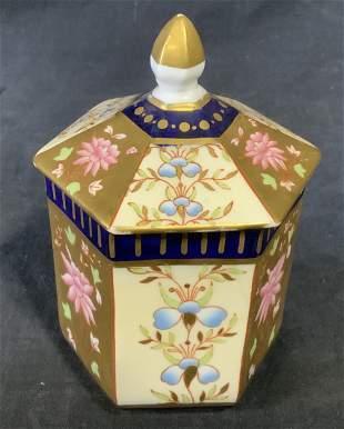 Pair Wedgewood Porcelain Lidded Vessels