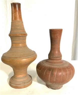 Lot 2 Vintage Ceramic Vases