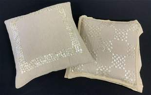 Lot 2 DRANSFIELD & ROSS Throw Pillows, India