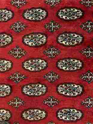 Persian Wool Fringed Carpet