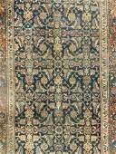 Vintage Hand Woven Oriental Wool Rug