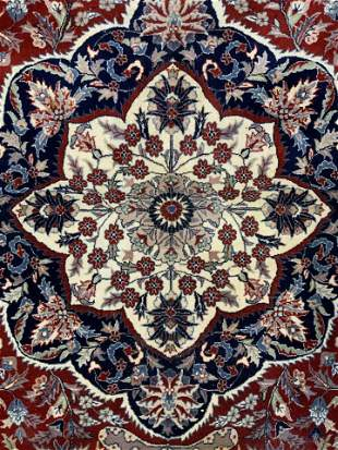 Fringed Wool Oriental Rug